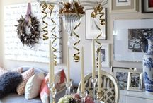 Festive Tabletops / Ideas on putting together beautiful Tables for festivities.......
