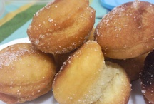 Bolas de canela o bolas de rosquilla / Golosolandia (Tartas y postres caseros) las mejores recetas: http://www.golosolandia.blogspot.com
