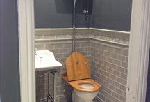 Ideas for guest restrooms / Ideer til smådoen