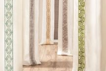 Beautiful Trims We Love! / Drapery trims and tassels enhance your window treatments.  Its the like icing on a cake.  Look at some of our favorite examples of drapery trims.