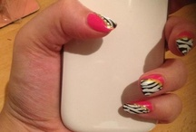 Nail ar by me / Nail art was created by me- more ideas- chickbarbie.blogspot.com