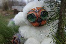 Куклы Soboleva Marina / Мои куколки и другие штучки изготовлены с любовью из полимерной глины заказ продажа