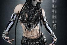 Cyber goth/goth