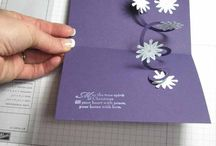 Card Folds, Cards that Pop / by Susie Mills