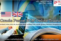 Oracle Fusion SCM Online Training / Rudra IT Solutions is one of the Promote leading IT Services and Oracle Fusion SCM Online Training  solutions along with IT Online training conservatory, with latest Industry offering technology in Hyderabad,India, USA, UK, Australia, New Zealand, UAE, Saudi Arabia,Pakistan, Singapore, Kuwait.   http://www.rudraitsolutions.com/fusion-applications/oracle-fusion-supply-chain-management-scm.php