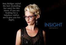 Feb31st @ Insight Eye Care, Waterloo / Glasses made from 13 layers of wood