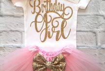Ava's first birthday