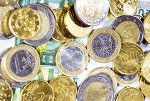 Soldi / Euro, monete, banconote, soldi, denaro