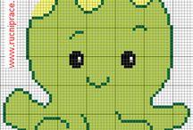 Gyerekminták - Cross stitch