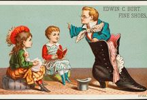 trade card - children