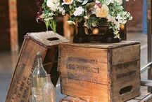 rustic wedding ideas / by The Blossom Shop