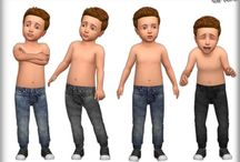 TODDLER STUFF (male) ts4 cc finds
