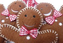 Christmas Crafts,Etc/Felt/Paper Ornaments / Variety of crafts, things to make  / by Carolynn S. Williams