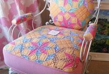 Quilty furniture / by Anna Quilting & Wool