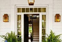 Front Porch Staging and Design