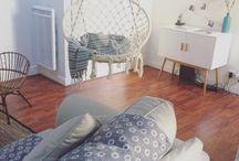 En visite chez...Sophie / Découverte d'un appartement à Versailles aux beaux volumes, à la déco entre vintage et scandinave !!