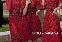 Red dress hair