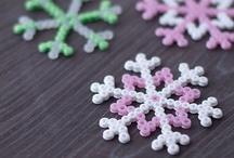 basteln mit Kindern - Winter