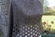 Crochet jackets, tops, vests, tunics