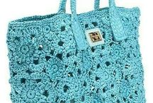 crochet bags . wish diy oneday
