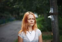 One hundred portraits / Series about people: I shoot one hundred poraits by free.