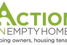Action on Empty Homes / Action on Empty Homes work with landlords who have properties that have been empty for more than 6 months and refurbishes the properties before offering them to an Action Homeless resident who is looking to move on into independent tenancy.