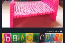 Perlerbeads :: Doll house / made by mom