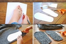 Creative DIY Socks