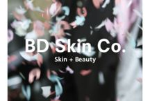 BD SkinCo treatment menu and GV