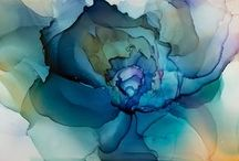 aquarelbloem schilderen