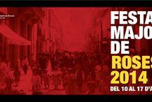 Festa Major Roses 2014 / La Festa Major d'aquest any va estar genial!! Tens fotos per compartir amb nosaltres?