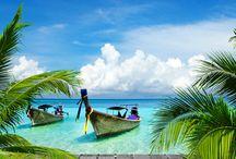 ☀ Iles Paradisiaques, on craque ! ☀ / Besoin de chaleur et d'évasion ? Voici les plus belles îles ☀ #Paradisiques #Sun #Voyage #DreamingEscape #BreakAuSoleil #Islandscape #ParadiseIslands