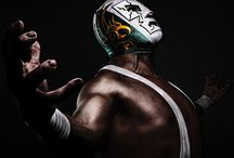 "Le Lucha Libre / colorful masks and rapid sequences of holds and ""high-flying"" maneuvers"