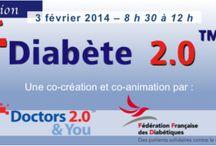 Matinale Doctors 2.0 & You : Diabète 2.0 / 3 février 2014 8h30-12h00 25 ave Matignon, 75008 Paris