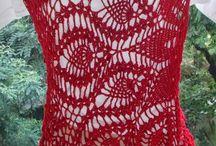 piñas rojas