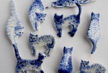 Kedi figürleri