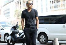 ByTheR- Modern Casual Dark Basic Clothing / http://en.byther.kr
