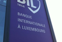 BIL Rebranding 2012 / March 2012, Banque Internationale à Luxembourg launched its new visual identity.