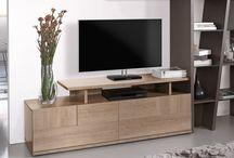:ϟ: Salons & Meubles TV :ϟ: / Comment rendre votre salon tendance avec votre télé ? La clé, c'est un joli meuble TV ! En voici une sélection pour tous les goûts et tous les styles : cocooning, nature, épuré, contemporain... / by Gautier