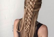 Braids and hairstyles