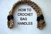Bag handles crochet