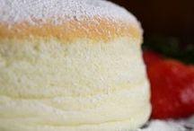 Cakes jiggly Japanese cheesecake