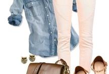 pantalones rosas y blancos