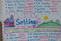 Characters and Setting / Ideas for teaching characters and setting in the elementary classroom.