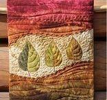 Textile art, fiber art & quilts