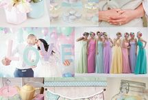 Pastel Wedding Theme / Pastel wedding ideas