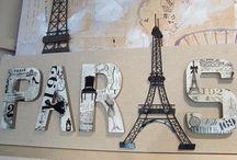 Paris themed rooms