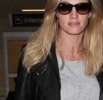 ERIN ANDREWS Arrives at LAX Airport in Los Angeles