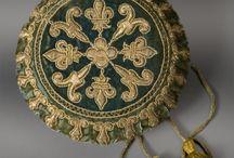 embroidery / hand work in silk cotton crewel                                                                               stumpwork / by vikki mick