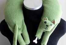 игрушки-подушки / подушки